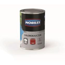 NOBILES chlorokauczuk 1 l czerwony ciemny