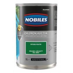 NOBILES chlorokauczuk 1 l zielony liściasty