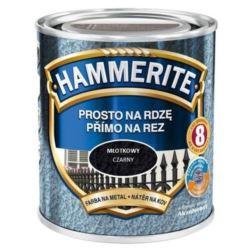 HAMMERITE 0,7 l młotkowy czarny