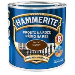 HAMMERITE 0,7 l połysk brązowy
