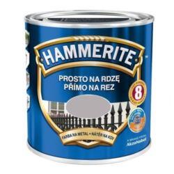 HAMMERITE 0,7 l połysk srebrny