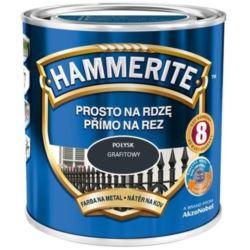 HAMMERITE 0,7 l połysk grafitowy