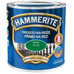 HAMMERITE 0,7 l połysk zielony