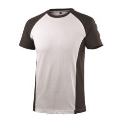 MASCOT t-shirt Potsdam rozm. 2XL biały/antracyt