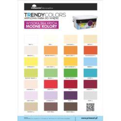 PRIMACOL Trendy Colors Ciemny brąz 5l