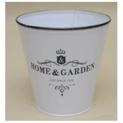 Osłonka metal home i garden 15x15 biała